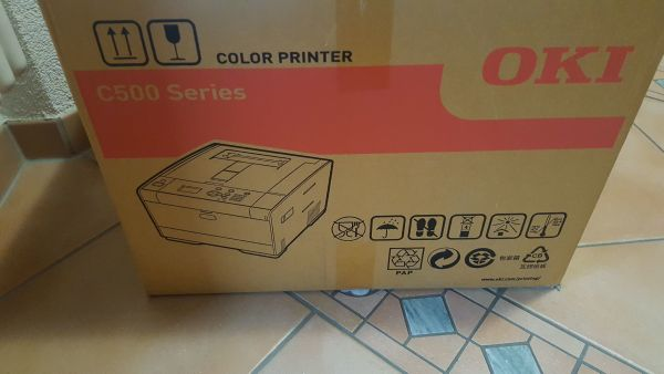 Farblaserdrucker Oki C532dn » Laserdrucker