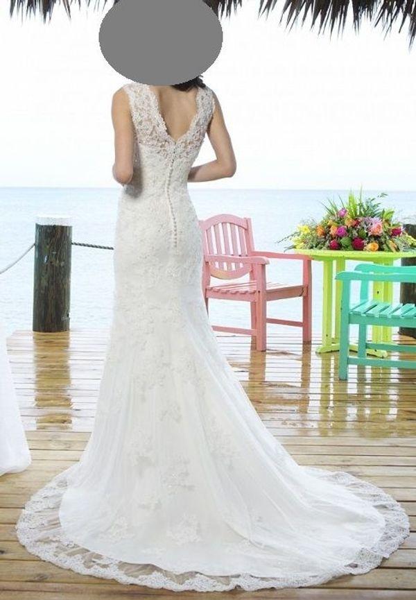 Hochzeitskleid Brautkleid Von Sincerity Size 6 Farbe Ivory In