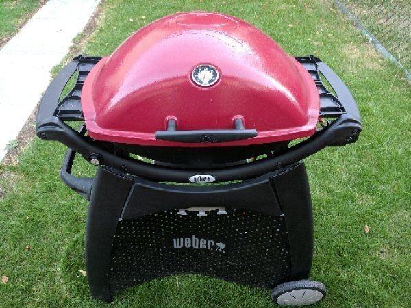 Rösle Gasgrill Oder Weber : Weber gasgrill q2200 mit rollwagen in fürth küchenherde grill