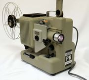 Eumig P8 automatic Doppel-8-Filmprojektor mit