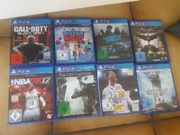 Ps4 + ps3 Spiele