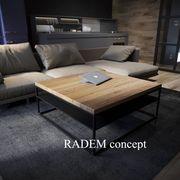 Eichentische und Tischplatte - Radem concept