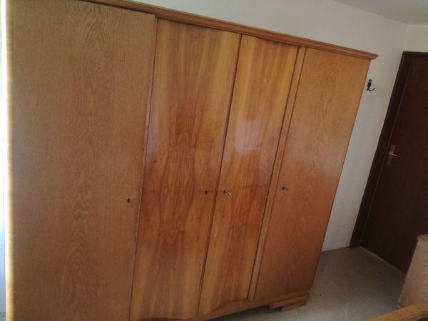 Vollholz Schlafzimmer aus den Fünfzigern guter Zustand in ...
