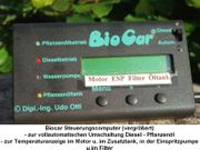 Biocar - Umbausatz Diesel auf Rapsöl