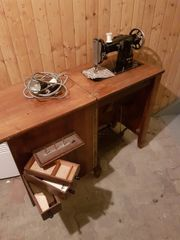 Vintage-Nähmaschine (funktionstüchtig!)