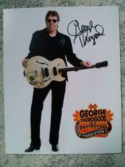 George Thorogood - Autogramm