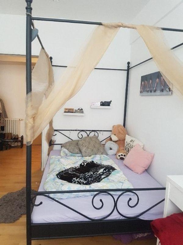 Himmelbett kinder 1,40  schwarzes Himmelbett in Berlin - Betten kaufen und verkaufen über ...