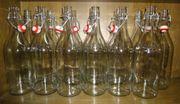 10 Bügelverschluss - Flaschen