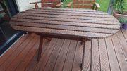 Terrassentisch Holz
