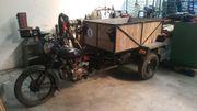 Dreirad Motorrad mit