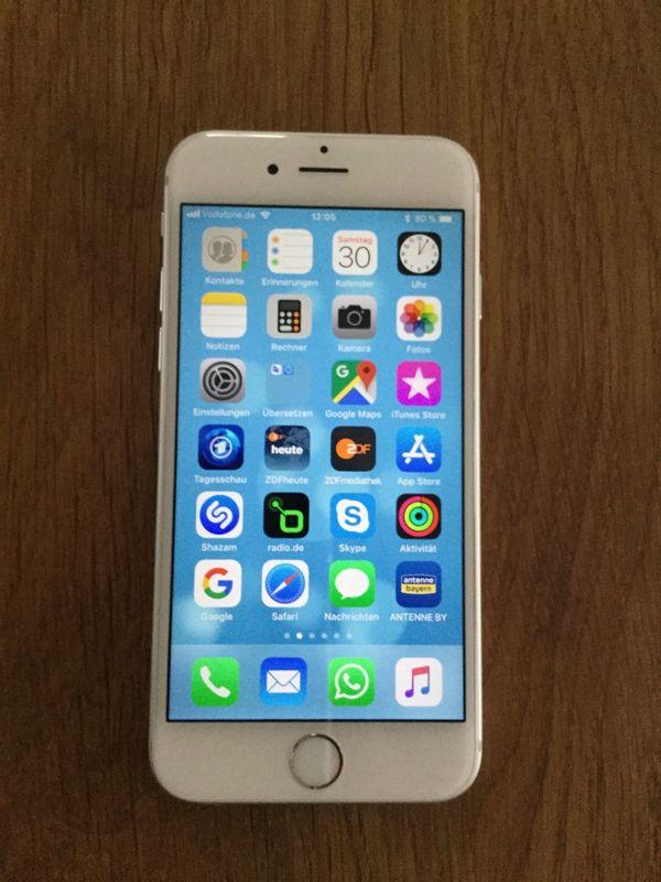 iPhone 6s, 64 GB, silber / weiß - sehr guter Zustand - Speyer - Ich verkaufe mein iPhone 6s mit 64 GB inkl. original Ladekabel und Originalverpackung. Sehr guter Zustand ohne Kratzer oder sonstige Schäden. - Speyer