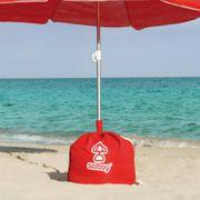 Verkaufe Solboy Schirmständer Farbe rot