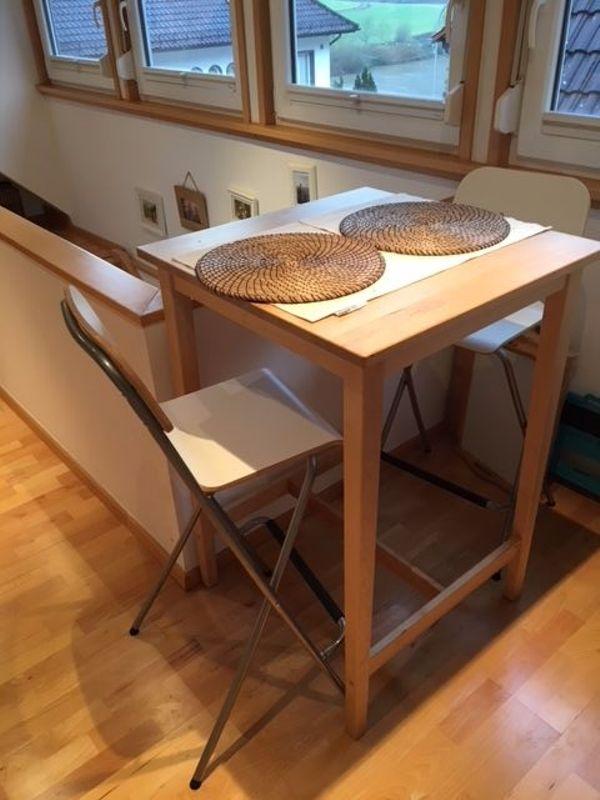 Ikea Bartisch ikea bartisch und barstühle buche weiß in neckarsteinach