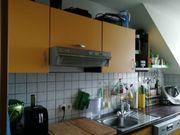 Küchenzeile in gelb