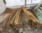 Pflanzpfähle,Pflanzstab,Holzpfosten,