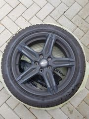 18 Winterkomplettradsatz 245 45R18 Bridgestone