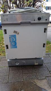 Einbau Spülmaschine Bauknecht Geschirrspüler Lfg