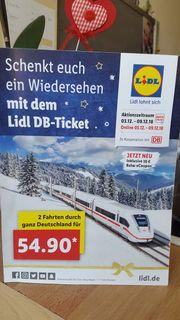 DB-Ticket für jede Person gültig