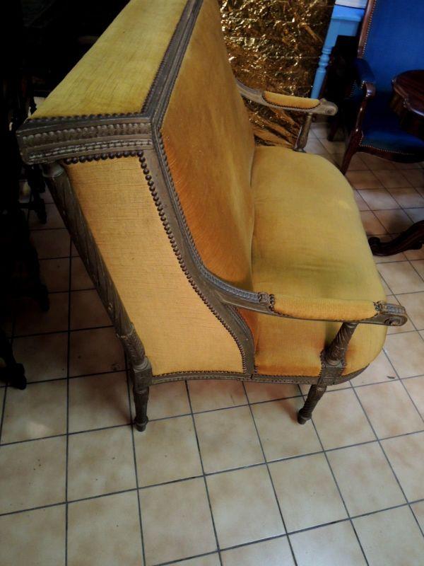 Barock / Biedermeier Sofa, 2 Sitzer Couch - sehr alt Rarität - Köln Merheim - Barock / Biedermeier Sofa, 2 Sitzer Couch - sehr alt RaritätWunderschöne einzigartige 2-sitzer Couch / Sofa in wohnfertigem Zustand. Das gute Stück wurde vermutlich vor 1800 hergestellt und könnte sicher auch gut in ein Museum passen.  - Köln Merheim