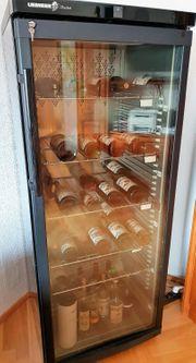 LIEBHERR Vinothek - Weintemperierschrank - Weinlager - Schrank