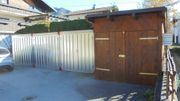 Holzgarage Lager 10 m2 in