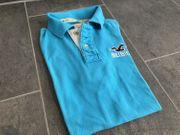 Hollister Poloshirt - Größe M - Türkis