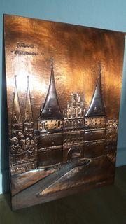 Kupferbild Lübeck Holstentor