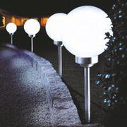 8 LED Solar