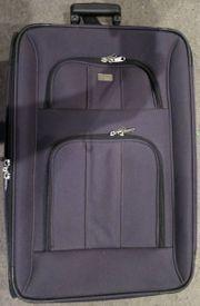 cc350642a0432 Reise - Stoff - Roll - Koffer. Tausche gegen 4 neue gute Koffer Gurte.