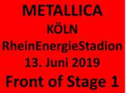 Metallica - Front of Stage 1 -