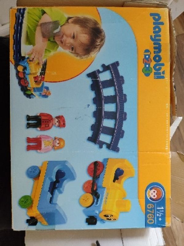 Playmobil 1-2-3 Eisenbahn