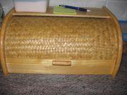 Brotkorb aus Holz