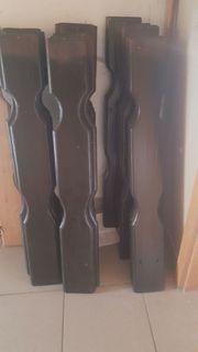 Zaun - Balkonbretter 89 cm x