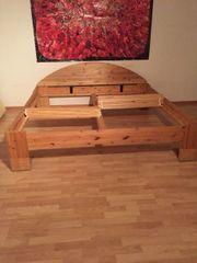 Möbelum Bett Massivholz