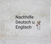 Nachhilfe Englisch und Deutsch