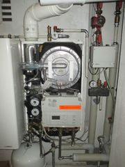 Gas-Heizung Viessmann Vitodens 300 WB3