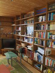 Bücher- und Fernsehregal Eiche