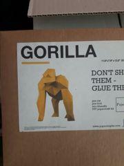Papertoy Gorilla super Weihnachtsgeschenk