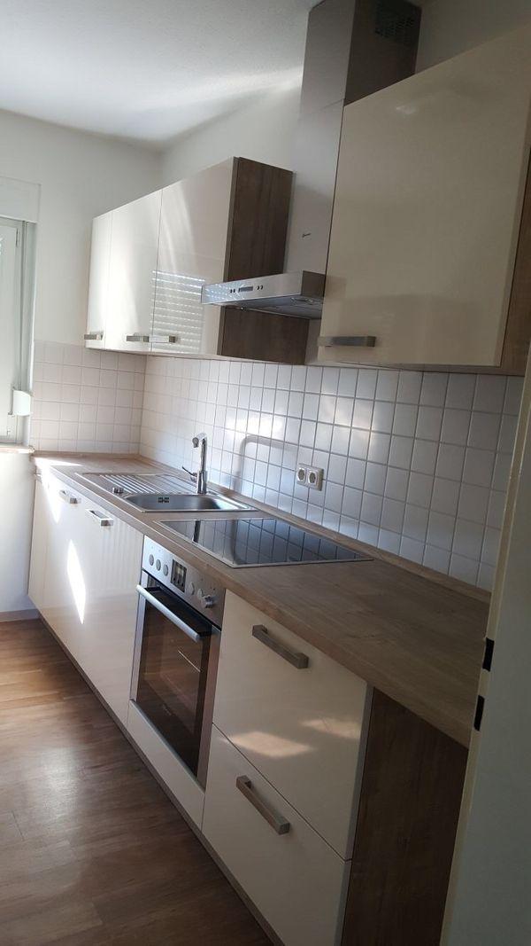 Einbauküche inkl. Spülmaschine, Ceran-Kochfeld, Kühlschrank in ...