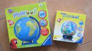 2 x Ravensburger Puzzleball Globus