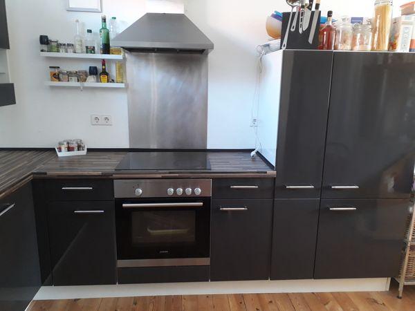 Schöne Hochglanz Küche L-Form mit 3 Hängeschränken in Steinweiler ...