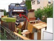 Entsorgung von Gartenabfälle oder Entrümpelung