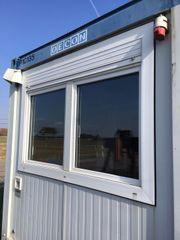 OECON Bürocontainer Baustellenbüro Container Baubude