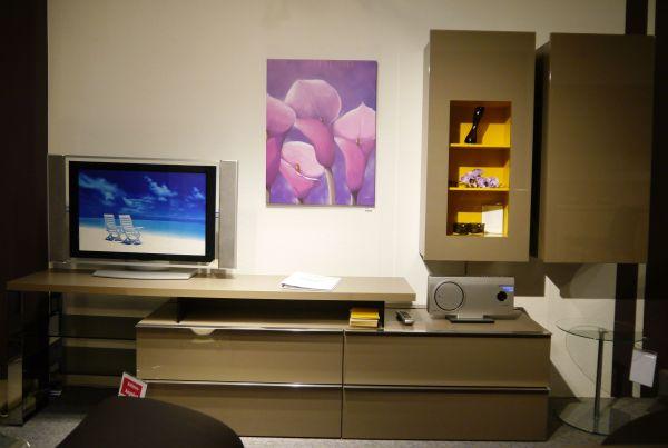 Wohnzimmer schrank TV-Wand Media 3000 Lack Cubanit in Mayen ...