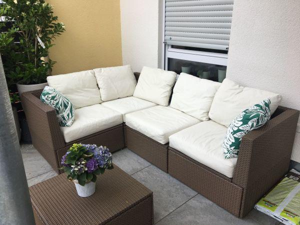 Lounge - Polyrattan (Ikea) in Vaihingen - Gartenmöbel kaufen und ...