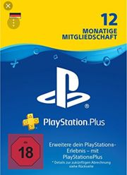 Playstation Plus 12 Monate Onlinecode