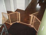 Treppenschutz, Konfigurationsgitter von