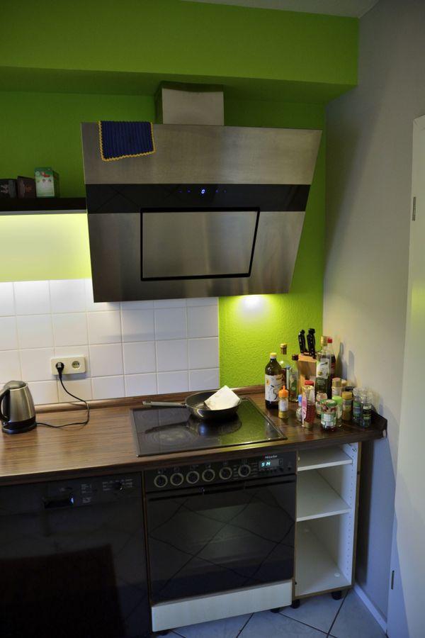 Küche zu verkaufen, mit Miele und Liebherr Geräten,Wandboards+LED in ...