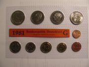 DM-Kursmünzen-Komplettsätze