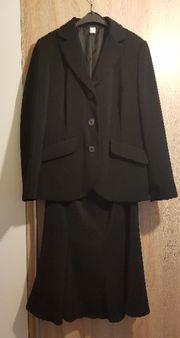 Kostüm Damen schwarz
